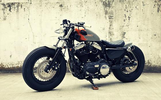 Custom-Harley-Sportster-by-Hidemo-1