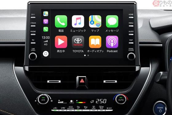 【悲報】トヨタの新型「カローラ」、純正CD/DVDプレイヤーが存在しない模様・・・