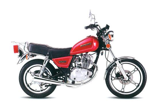 Suzuki-GN125_Red