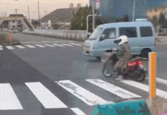 とんでもないバイク乗り