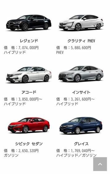 【悲報】ホンダさん、軽自動車以外に力入れてる車が日本で不人気のセダン