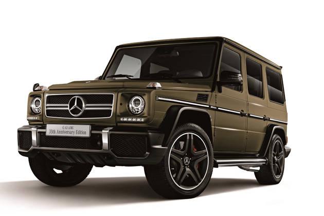 20140912bg メルセデス・ベンツ、Gクラス誕生35周年記念の特別限定車を発売 : サイ速