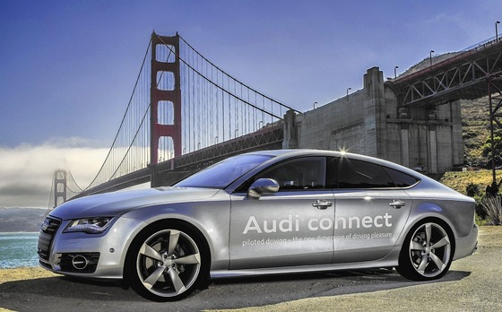 Audi-self-driving-car