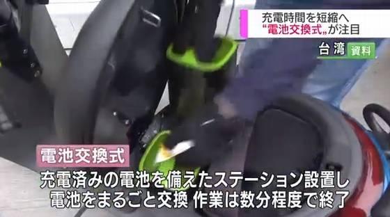 電池交換式バイク