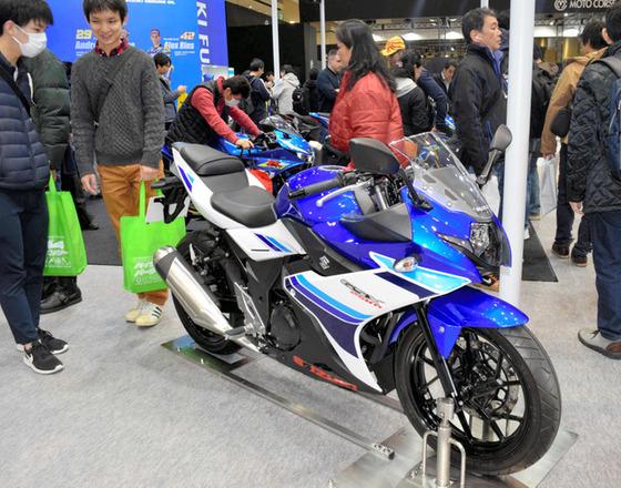 【東京モーターサイクルショー】バイクの祭典開幕…250ccに注力、需要掘り起こしへ