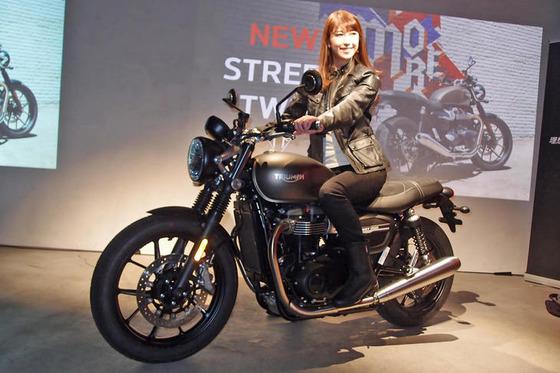 「トライアンフ・ストリートツイン」の2019年モデル登場