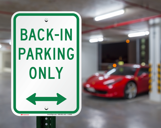 back-in-parking-only-signs