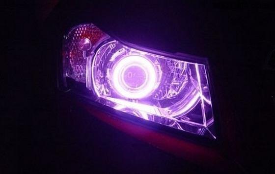 Purple-car-light