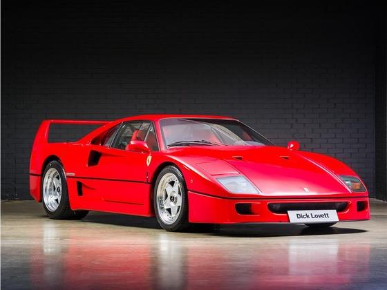 史上最もかっこいいフェラーリは?F40