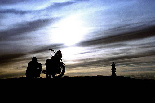 motorcycle-silhouette