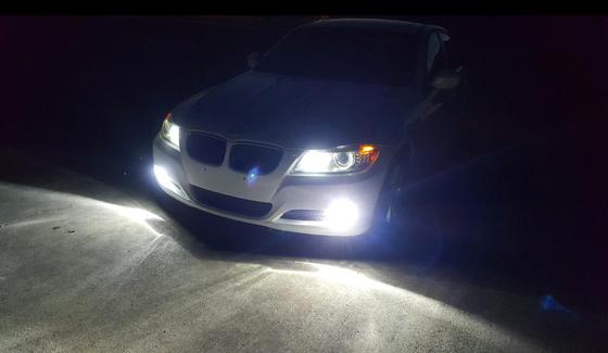 フォグランプ常時点灯の車www
