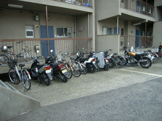 駐輪イメージ画像