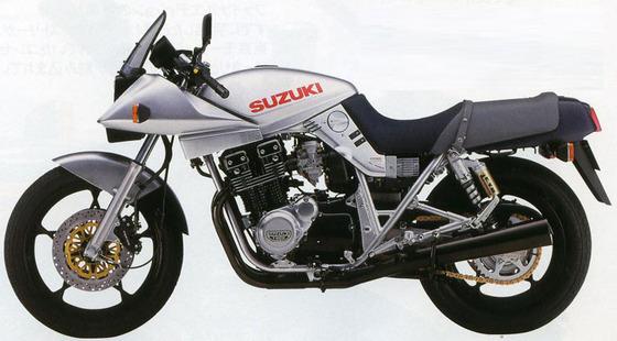 スズキGSX1100Sカタナ