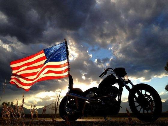 American-Flag-Motorcycle