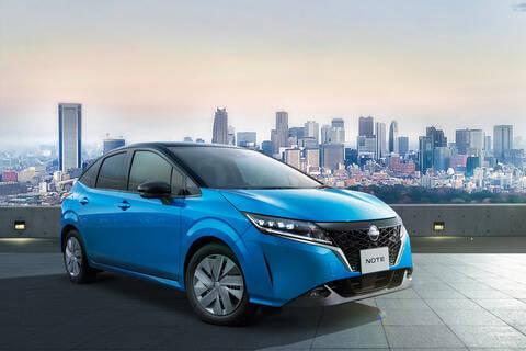 日産が新型ノートを発表…WLTCモード燃費29.5km/L、202万9500円~
