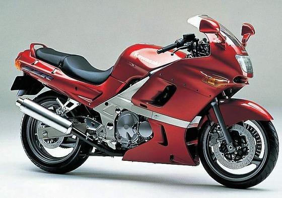 Kawasaki ZZR400 96