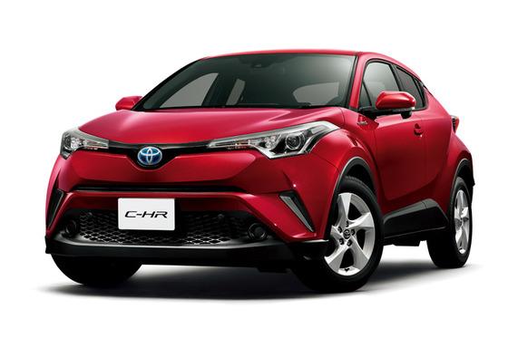 トヨタ、プリウスSUVこと「C-HR」を発売