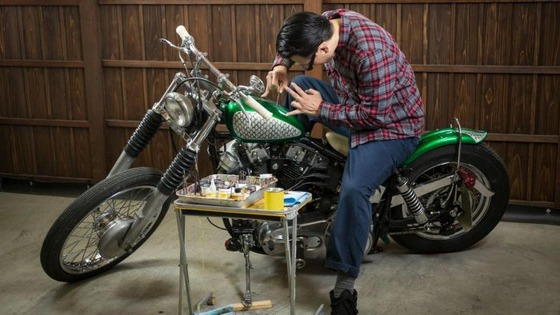 バイク塗装