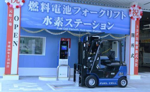 トヨタの水素自動車(FCVフォークリフト)がバカ売れ、「倉庫内で排気ガスが出ない」が決め手