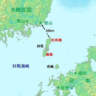 Tsushima_map