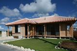 木造赤瓦住宅 完成写真