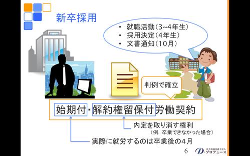 勘どころシリーズ「入社前研修」6