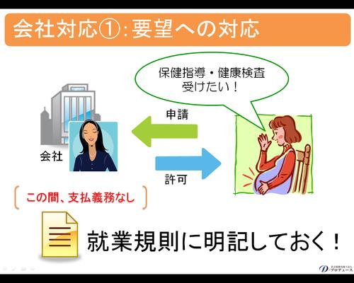 妊産婦期間の規制7