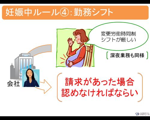 妊産婦期間の規制5