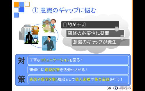 勘どころシリーズ「入社前研修」8-3