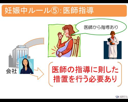 妊産婦期間の規制6