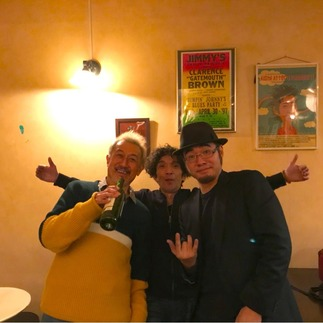 中川五郎・田村鉄火・守山ダダマ