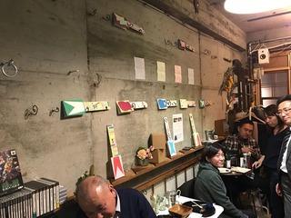 守山ダダマの絵レ氣ギター展@堂山町ARTiQA