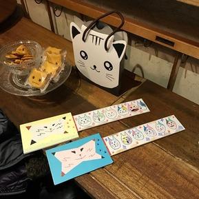 ミケスプローラー1号2号と猫菓子