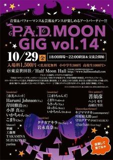P.A.D. Moon Gig Vol.14