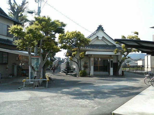 上街道(旧東海道)21 人柱伝説と護所神社  開運 旧東海道
