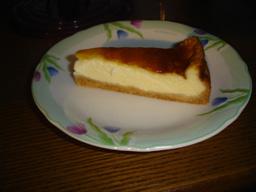 お手製チーズケーキです!
