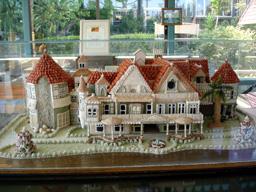 ウィンチェスター家の模型