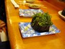 めかぶ寿司