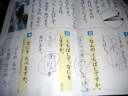 国語の初テスト