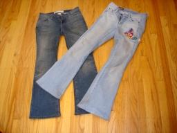 このジーンズをお直し