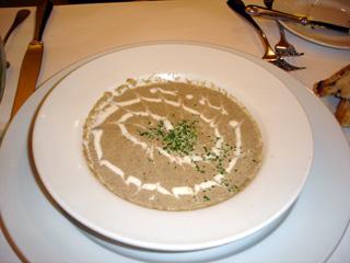 Champinion cream soup