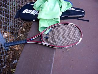 my raquet
