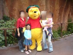 poohと握手♪