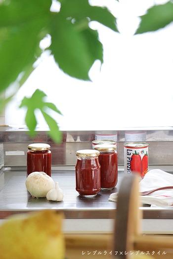 【自家製調味料】定番化した自家製トマトケチャップづくり