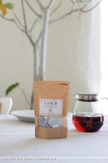 美味しい紅茶みーつけた! 熊本県産 無農薬・無化学肥料栽培の『天の紅茶』