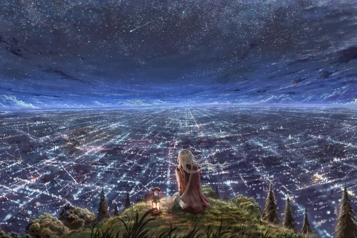 city-stars-night-clouds-anime-485x728
