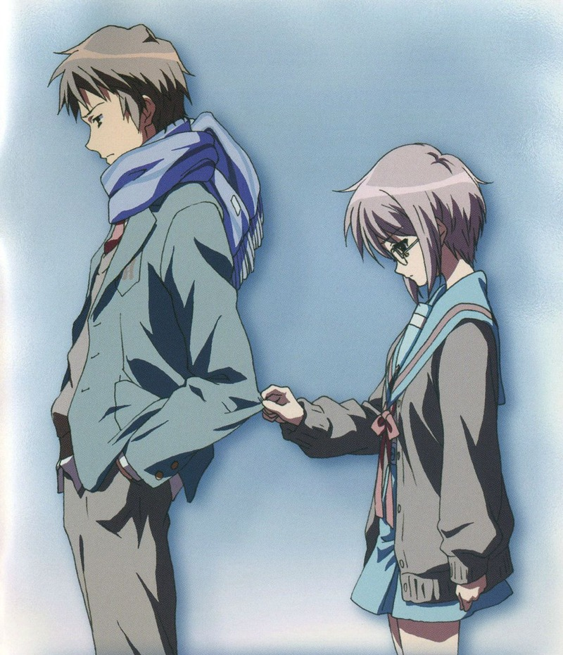 haruhi if i let you go