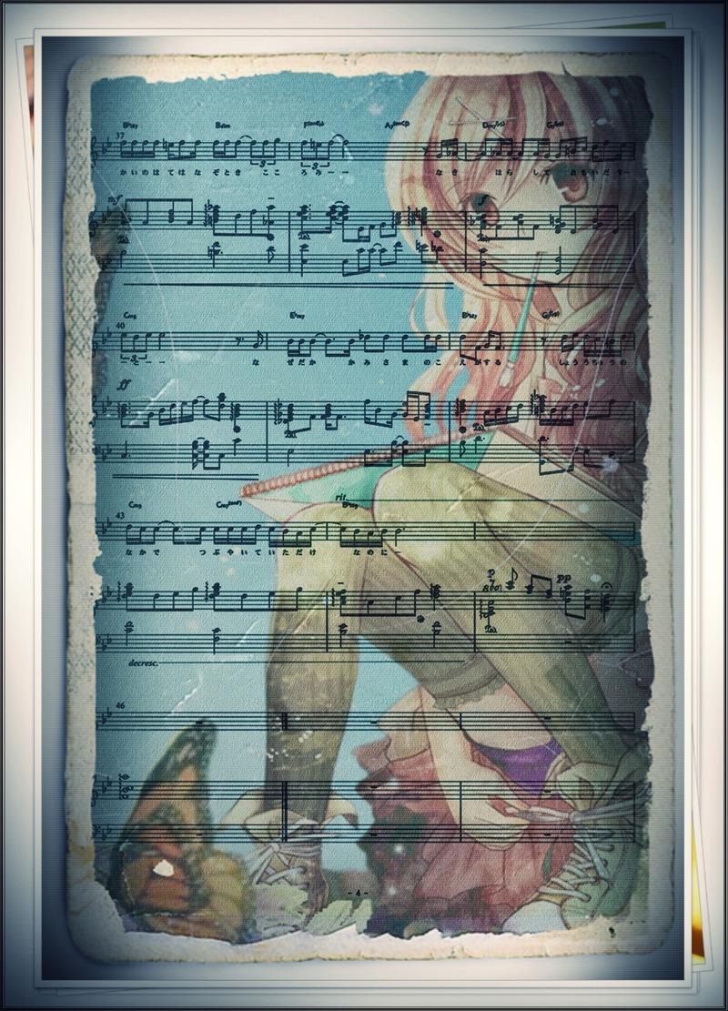 抄宇宙 Piano 4p7edit