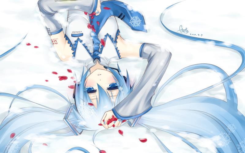 hatsune_miku-snow_falling