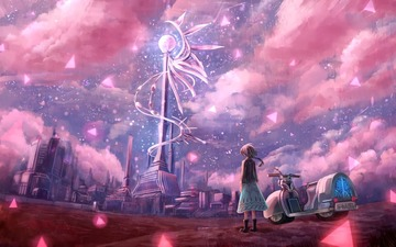 162637-bou_nin-city-clouds-motorcycle-original-scenic-sky